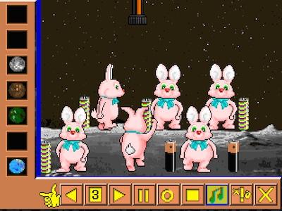 Duracell run the bunny
