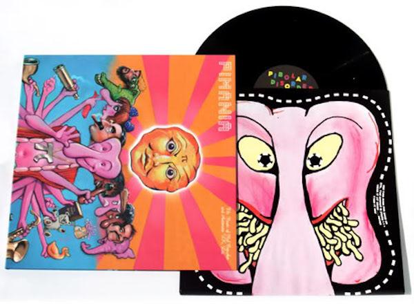 Mel Croucher, music on vinyl